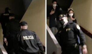 Fiesta Covid-19: intervienen a 18 personas en un edificio multifamiliar en Barranco