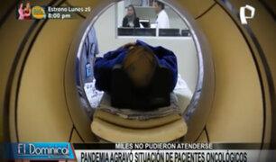 Pacientes oncológicos: Pandemia agravó su situación pues muchos no lograron atenderse
