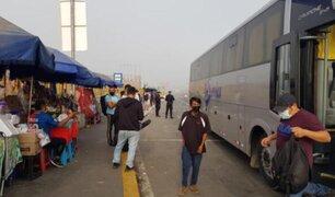 El Agustino: en primer domingo de inmovilización se registra presencia de público en Puente Nuevo