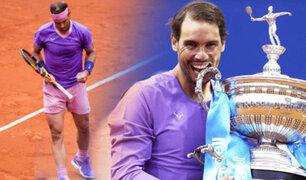 Rafael Nadal se coronó campeón en Barcelona