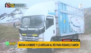Chosica: asesinan a un hombre y lo arrojan a río por robarle su camión