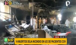 ¡Terrible! Al menos 14 muertos tras incendio en unidad UCI de pacientes covid