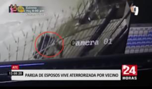 Salamanca: pareja de esposos vive aterrorizada por vecino
