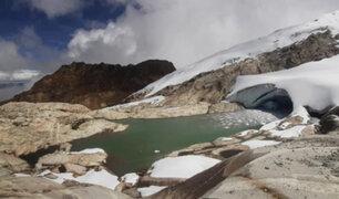 Áncash: se registran nuevas formaciones de lagunas por acción del cambio climático