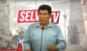 Iquitos: denuncian y solicitan prisión preventiva contra comunicador por apología al terrorismo