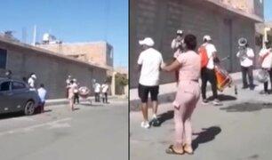 Tacna: intervienen a varias personas bailando y bebiendo licor en plena calle