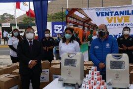 Respira Perú entrega 40 concentradores de oxígeno para Ventanilla