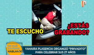 Yahaira Plasencia: cantante no aparece en parte policial de intervenidos de su fiesta covid