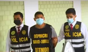 VES: capturan a delincuente que asaltó a clientes y trabajadores de taller en parque Industrial
