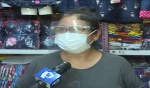 Emprendedores y comerciantes de Gamarra rechazan propuestas económicas de Pedro Castillo