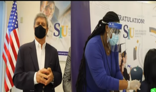 Respira Perú gestiona llegada de vacunas Pfizer desde Miami a Perú