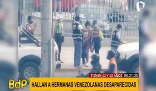 Piura: hallan a hermanas venezolanas reportadas como desaparecidas en Ecuador