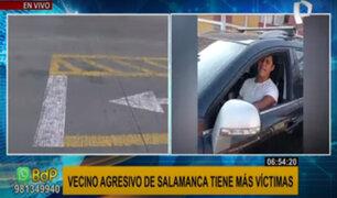 Más víctimas de vecino agresivo en Salamanca: habría roto la cabeza a hombre con un fierro