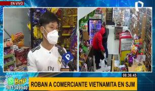 SJM: roban bodega a ciudadano vietnamita por tercera vez en menos de un año