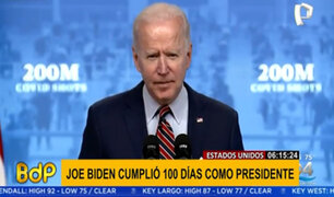Joe Biden llega a los 100 días como presidente en medio de una crisis política y sanitaria