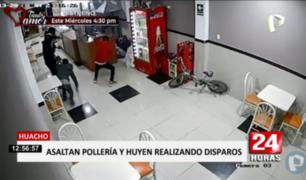 Huacho: joven frustró asalto en pollería pero acabó herido de bala