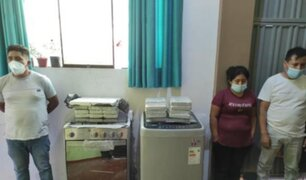 Ate: intervienen a hermanos con droga camuflada en electrodomésticos