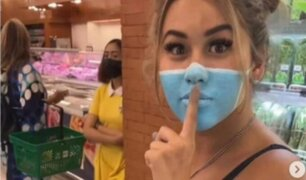 Indonesia podría deportar a 'influencers' por pintarse mascarilla y no usar una verdadera