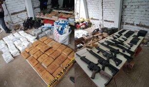 ¿Cómo opera la organización internacional a la que le incautaron drogas y un arsenal militar?
