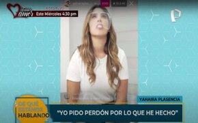 Yahaira Plasencia cuenta su verdad y pide disculpas por organizar fiesta clandestina