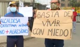 SJM: vecinos afectados por falta de salida vehicular a Puente Alipio exigen ser escuchados