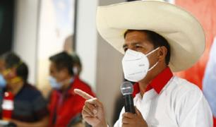 """Pedro Castillo presentó su plan de Gobierno """"Perú al Bicentenario sin corrupción"""""""