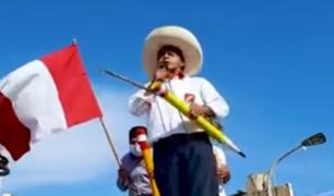 Candidato de Perú Libre buscaría deslindarse de Vladimir Cerrón