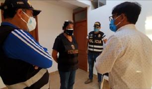 Trujillo: intervienen a sujetos que cobraban S/ 500 por aplicar presunta vacuna contra la Covid-19