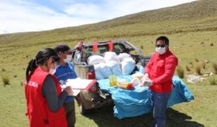 Contraloría detectó personas fallecidas como beneficiarios de canastas familiares en Huancavelica