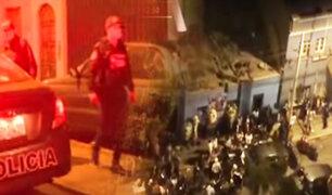 Policía interviene velorio COVID en Lince