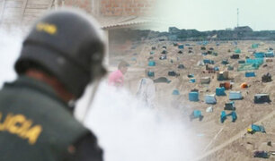 Lomo de Corvina: desalojo dejó once detenidos y cuatro policías heridos