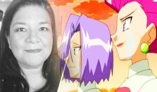 """Pokémon: Falleció la actriz de doblaje que dio voz a Jessie del """"Equipo Rocket"""""""