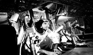 Apolo 11: fallece uno de los tres astronautas que formó parte de la primera misión a la Luna