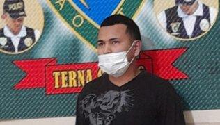 Grupo Terna captura a sujeto requisitoriado por homicidio durante patrullaje