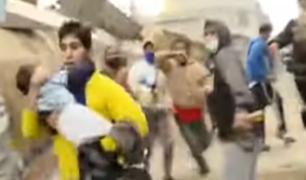 Niños, ancianos y embarazadas los más afectados en enfrentamientos en Lomo de Corvina