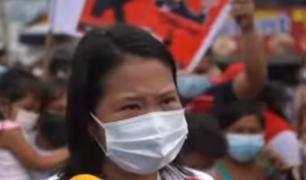 Keiko Fujimori afirma que Pedro Castillo busca destruir las instituciones