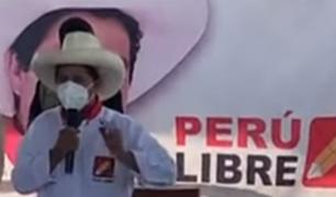 Pedro Castillo reafirma que destinará 10 % del PBI para el sector educación