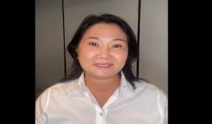 """Keiko Fujimori a Pedro Castillo: """"Acepto el reto para debatir en Chota, no te corras Pedro"""""""