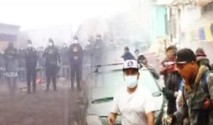 "Así amanece ""Lomo de Corvina"" tras desalojo policial"