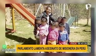 Asesinato de misionera italiana en Chimbote: prensa italiana informó sobre el crimen
