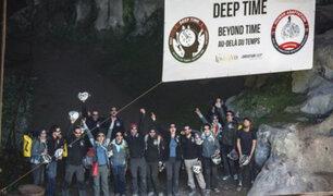 Experimento científico: 15 voluntarios permanecen en una cueva profunda por 40 días