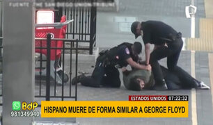 Nuevo caso de abuso policial en EEUU: hispano muere asfixiado durante intervención