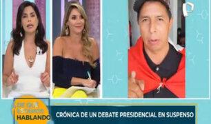 Pedro Castillo vs. Keiko Fujimori: crónica de un debate presidencial en suspenso