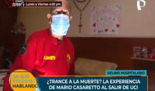 ¿Trance a la muerte?: experiencia de pacientes covid-19 durante su permanencia en UCI