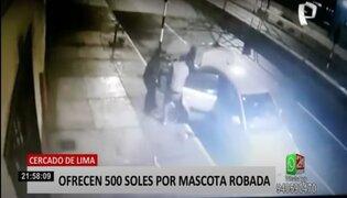 Cercado de Lima: delincuentes roban más de 20 mil soles en máquinas de almacén