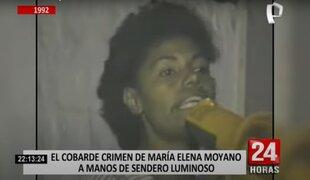 Hijo de María Elena Moyano rechaza candidatura de Pedro Castillo