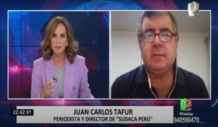 Juan Carlos Tafur realiza un análisis de las campañas presidenciales en la segunda vuelta