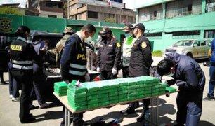 Junín: intervienen camioneta que trasladaba más de 100 kilos de alcaloide de cocaína
