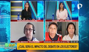 Fujimori versus Castillo: ¿Cuál será el impacto de este debate fuera de lo convencional?