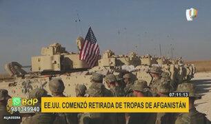 EEUU: inicia retirada de tropas norteamericanas de Afganistán